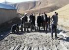 Adilcevaz'da Yol Yapım Ve Parke Taşı Döşeme Çalışması