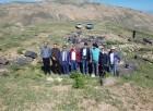 Adilcevaz'daki Kef Kalesi'nde 45 yıl aradan sonra kazı çalışması