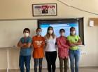 Köy okulu öğrencileri Avrupa ülkelerine Adilcevaz cevizini tanıttı