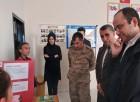 Köy Okulunda TÜBİTAK Bilim Fuarı ve Kütüphane Açılışı