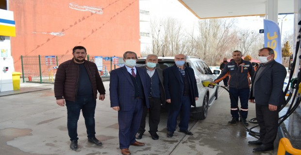 Adilcevaz Belediyesi akaryakıt alımında otomasyon sistemine geçti